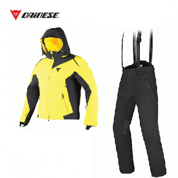 SKYWARD D DRY Jacket VBT/HELLOW + EXCHANGE DROP Pants BK/BK [16/17]