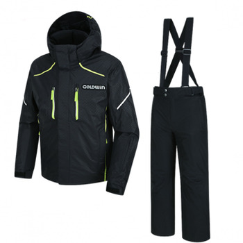 JUNIOR UNITED JACKET+PANT (GSJ2NH66 BK + GSP6NH66 BK) [16/17]