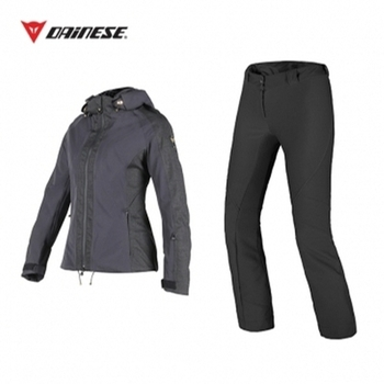 EPAULE LADY Jacket BLACK + 2° SKIN Pants BLACK [16/17]